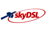 Highspeed internet everywhere available. Logo from skyDSL